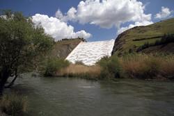 ۵۸درصدحجم سدهای کردستان پرشده است/سرریزشدن سد سورال دهگلان