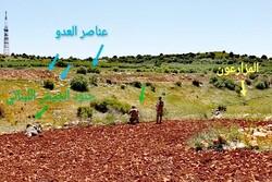 رویارویی سربازان ارتش لبنان با نظامیان رژیم صهیونیستی