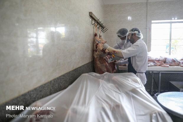 افتتاح آشپزخانه بزرگ مهدوی قرارگاه سازندگی خاتم الانبیا(ص)
