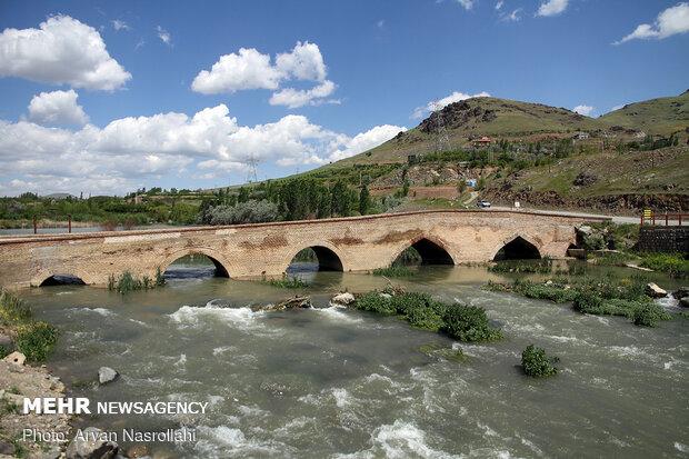 سرریز شدن سد وحدت Vahdat Dam in Kurdestan prov. Overflows