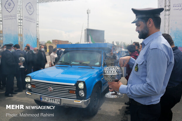 """""""Equality, Sincere Assistance Maneuver"""" in Shahr-e-Rey"""