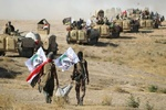 Haşdi Şabi güçleri IŞİD'e ait İHA'yı düşürdü