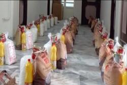 ۵۶۰۰ بسته معیشتی در قالب رزمایش مواسات در رودسر توزیع شد