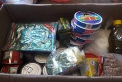 """حركة """"النجباء"""" العراقية توزع سلل غذائية في فلسطين"""