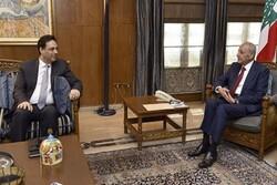 رایزنی نخست وزیر لبنان با رئیس پارلمان این کشور