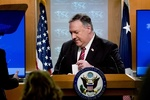 پمپئو علیه برنامه راهبردی ایران-چین توئیت زد
