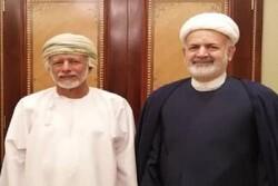 Iran, Oman discuss latest regional developments, bilateral ties