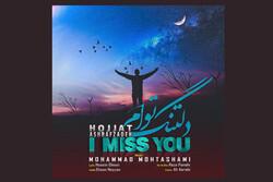 حجت اشرفزاده تک آهنگ «دلتنگ توام» را منتشر کرد