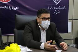 ۲۹۶ بیمار در بخشهای کرونایی استان بوشهر بستری هستند