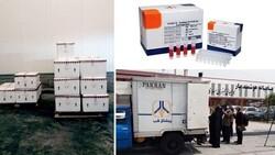 Iran dispatches coronavirus test kits consignment to Germany