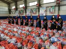 ارسال ۳۵۰۰ بسته غذایی و بهداشتی به استانهای کم برخوردار