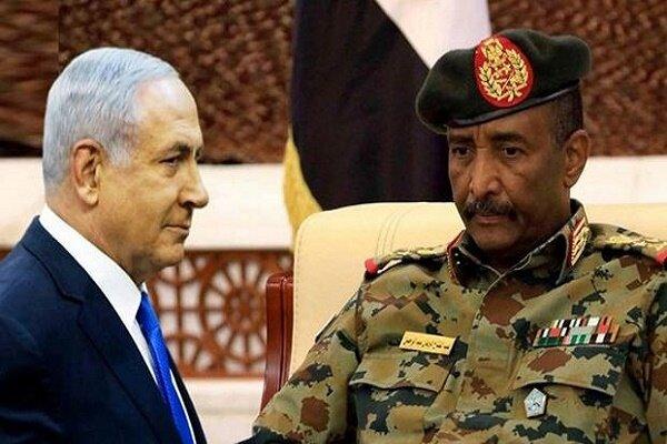 گفتگوی تلفنی نتانیاهو و عبدالفتاح البرهان با هدف توسعه روابط