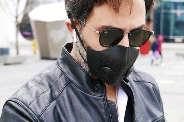 ماسک سه بعدی ضدکرونا نفس کشیدن را مختل نمیکند