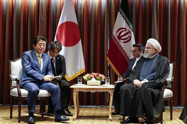 Rouhani, Abe stress need for coop. between Iran, Japan to fight coronavirus