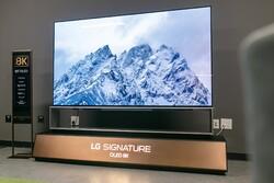 ال جی بزرگترین تلویزیون «او ال ای دی» جهان را رونمایی کرد
