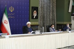 Rouhani underscores improvement in economy, Iranians' lives, hope for future