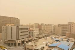 شرق و مرکز اصفهان این هفته با گردوخاک درگیر است