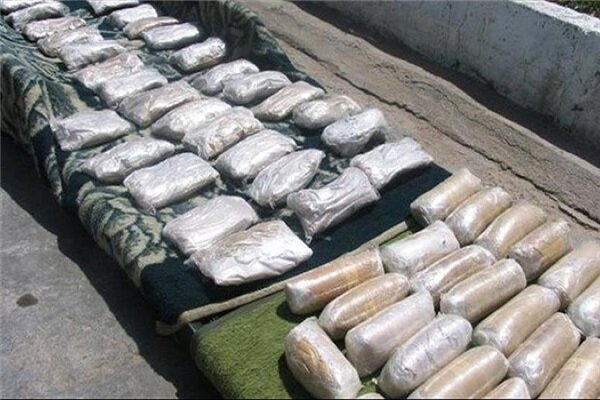 Big haul of illicit drugs seized in SE Iran