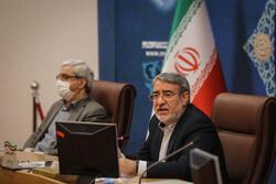 ایرانی وزیر داخلہ کی موجودگی میں صوبائی گورنروں کا اجلاس