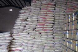 کشف بیش از ۱۶ تن برنج احتکار شده در اراک