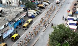 بھارت میں سیکڑوں بھارتی پولیس اہلکار کورونا وائرس کا شکار