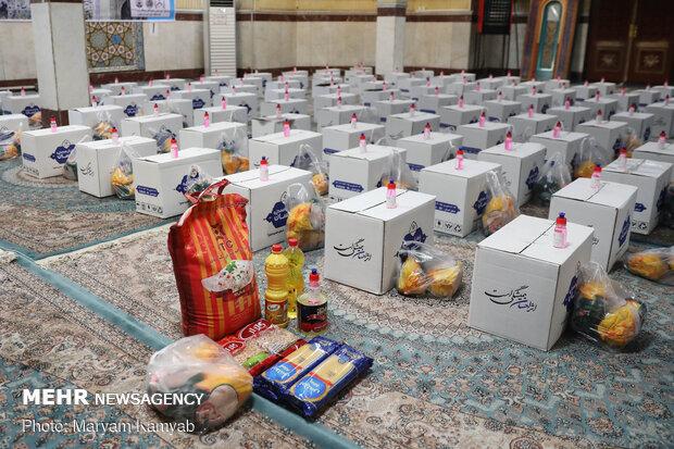 ۴۵۰۰ بسته معیشتی در میان آسیب دیدگان ناشی از کرونا توزیع شد