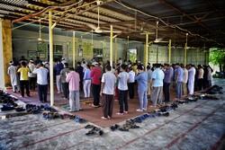 اقامه اولین نماز جمعه بعد از کرونا در «تاتارعلیا»