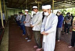 تاتار علیا میں اہلسنت کی نماز جمعہ منعقد