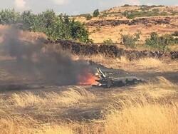 بھارتی فضائیہ کا جنگی طیارہ مگ-21 گر کر تباہ