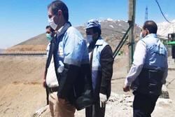 بازدید میدانی فرماندار دماوند از مناطق نزدیک به کانون زلزله
