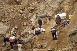 پاکسازی معدن آلبلاغ اسفراین از برداشت غیرمجاز توسط نیروی انتظامی