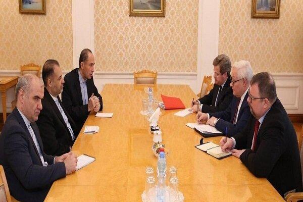 Tehran, Moscow emphasize strengthening bilateral, intl. coop.