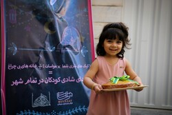 Distributing livelihood foodstuff pakages on birth anniversary of Imam Hassan [PBUH]
