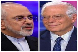 Iran FM, EU foreign policy chief hold phone talk