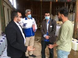 افزایش گشتهای مشترک دادستانی/ پلمب یک کارگاه تولیدی در قزوین