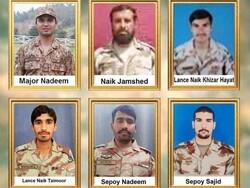 وہابی دہشت گردوں کے حملے میں پاکستانی فوج کے 6 اہلکار ہلاک