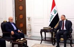 سفير ايران في بغداد يبحث مع رئيس الوزراء العراقي سبل توطيد العلاقات بين البلدين