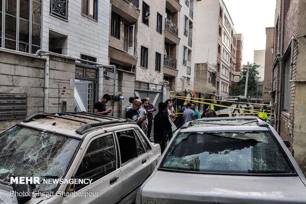 انفجار منزل مسکونی در خیابان کمیل