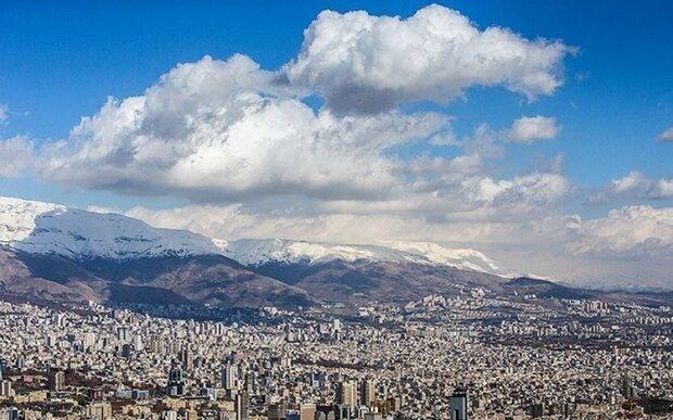 هوای تهران در نیمه اردیبهشت ۱۴۰۰ سالم است