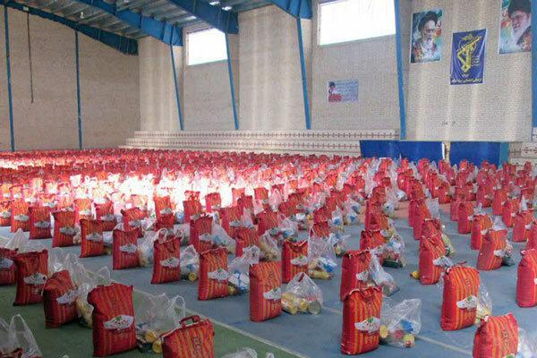توزیع ۱۰۰۰ بسته معیشتی در گناباد