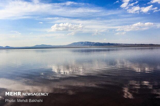 احیای دریاچه حوض سلطان قم