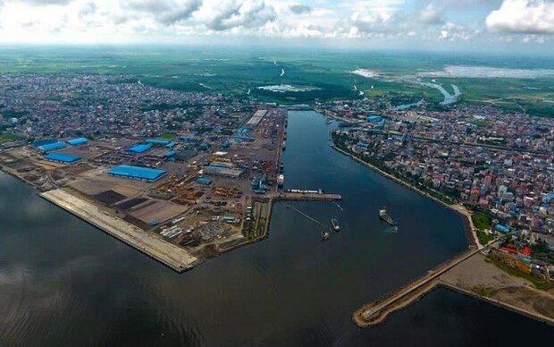 جمع صادرات و صادرات مجدد منطقه آزاد انزلی۴ برابر واردات بوده است