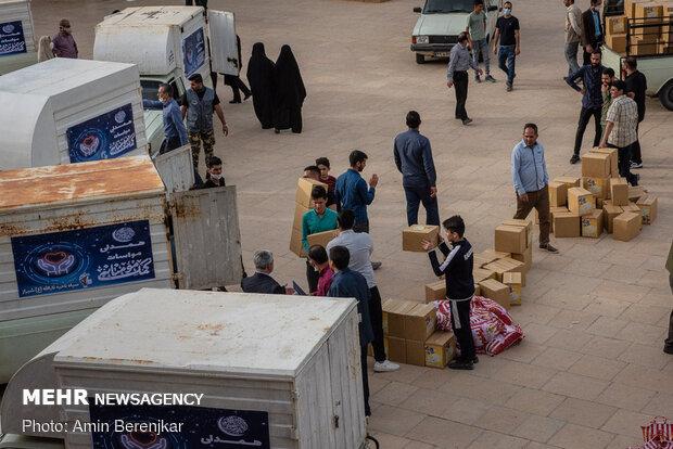 توزیع 82 هزار بسته معیشتی در شیراز