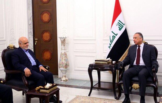 Iraq interested in having best ties with Iran: PM al-Kazemi
