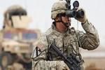 انفجار بمب در مسیر ارتش تروریست آمریکا در عراق