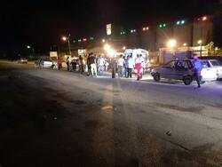 تصادف ۲ خودرو در اسلامشهر/۵ نفر مصدوم شدند