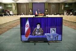 قائد الثورة الاسلامية يشارك في إجتماع لجنة مكافحة كورونا