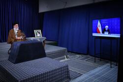 Ayatollah Khamenei attending session of national task force against COVID-19