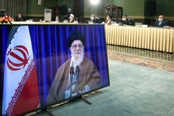 مشاركة قائد الثورة في اجتماع اللجنة الوطنية لمكافحة كورونا