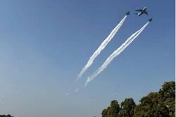 پرواز جنگندههای پاکستان نزدیک مرز هند